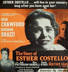 The Story of Esther Costello 1957 DVD - Joan Crawford / Rossano Brazzi
